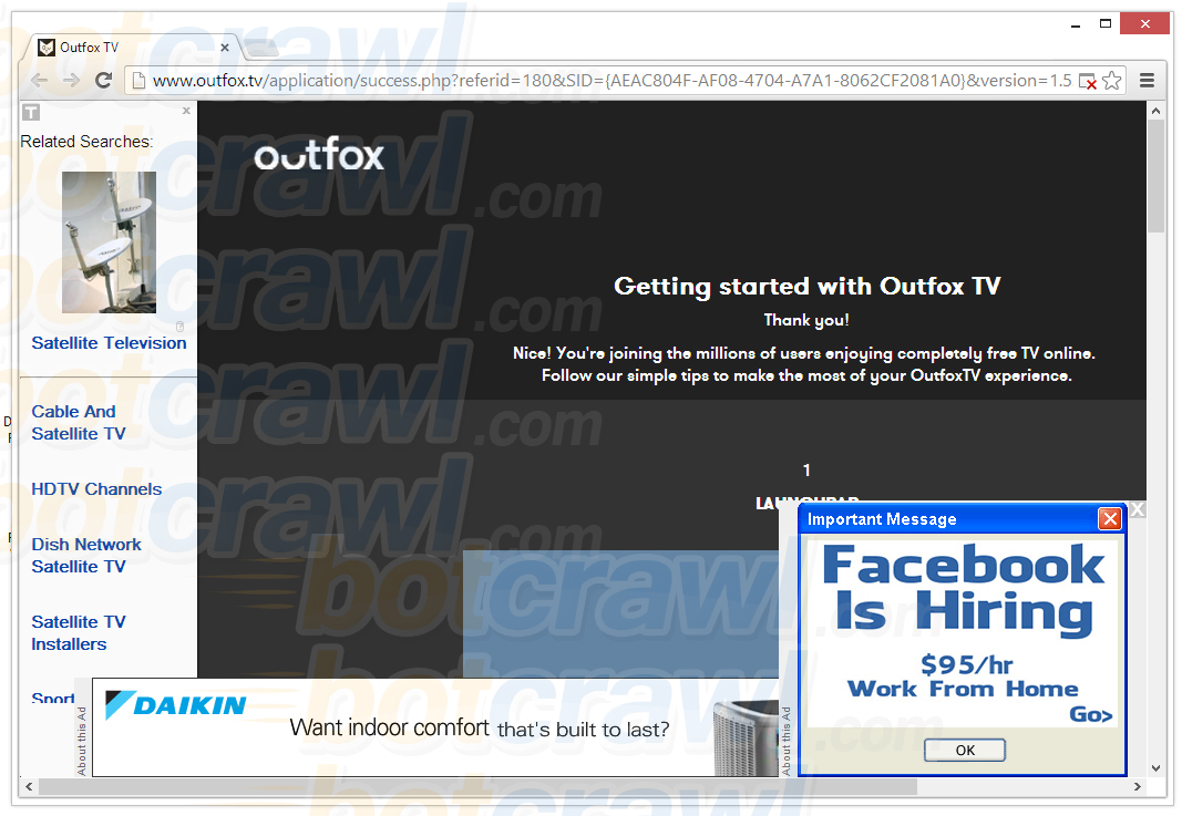 remove outfox malware