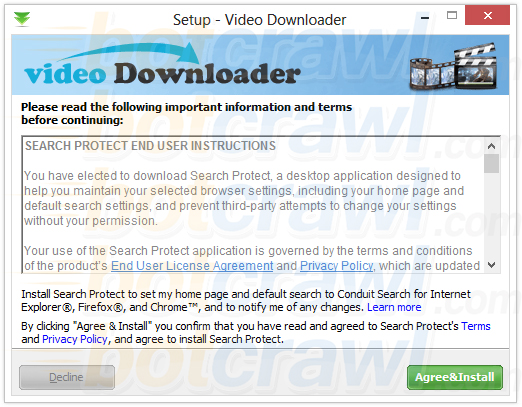 remove video downloader malware