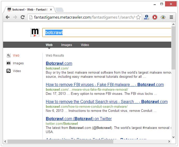 search.fantastigames.com redirect virus
