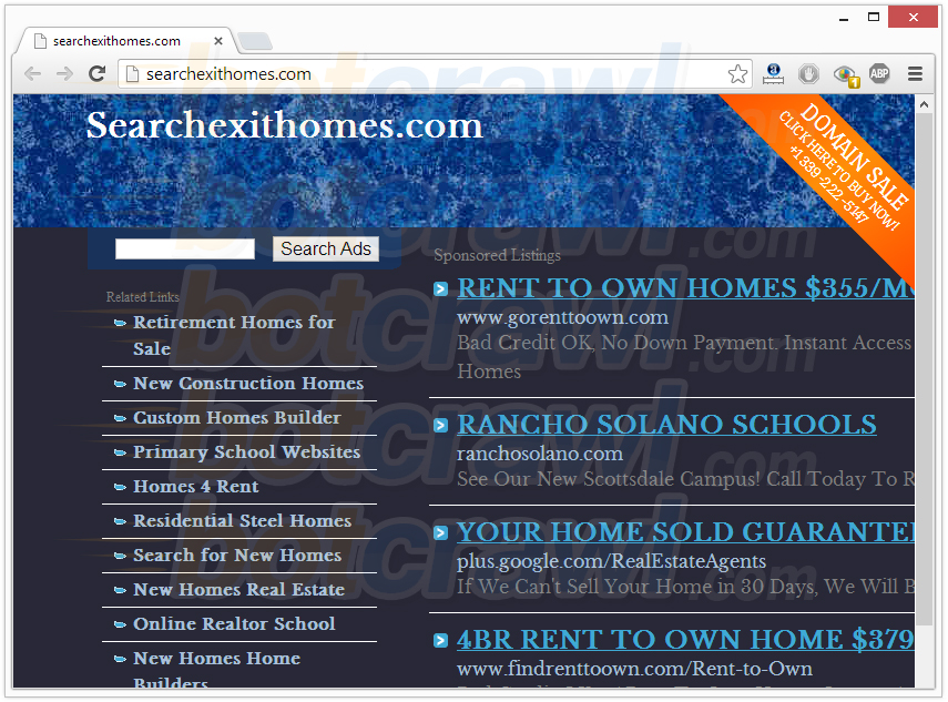 searchexithomes.com virus