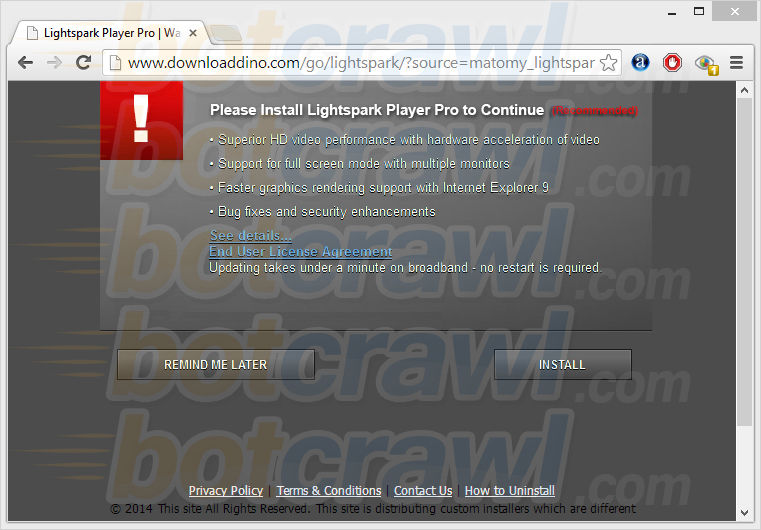 www.downloaddino.com pop up virus
