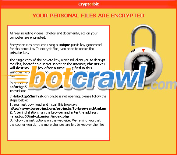 BitCrypt virus removal