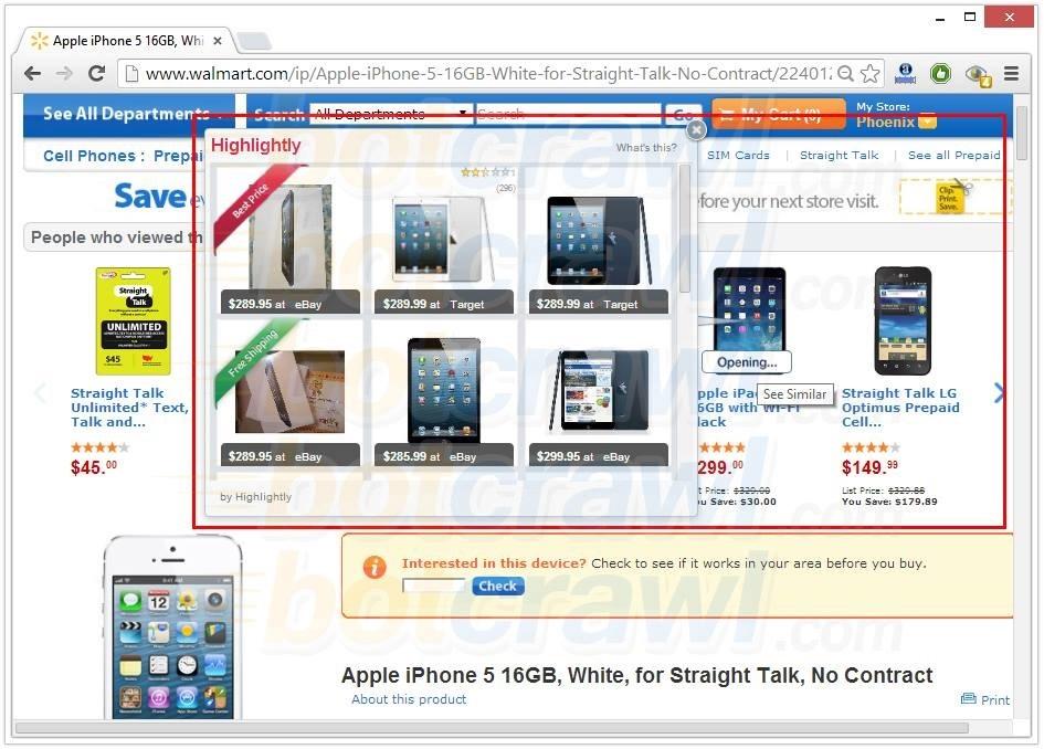 Deals Compare virus