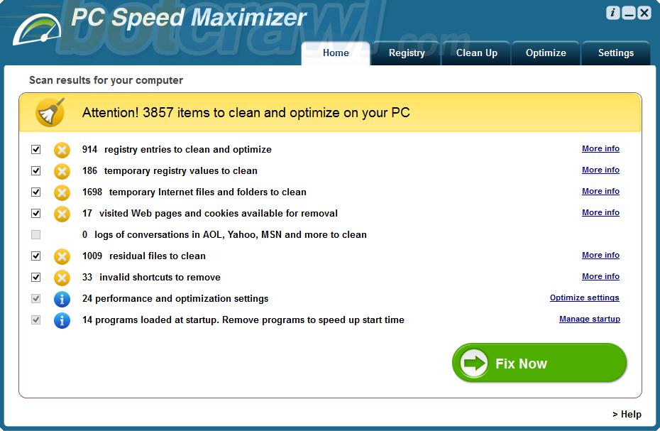 PC Speed Maximizer virus