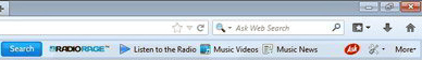 RadioRage Toolbar remove