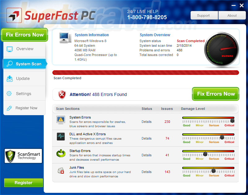 SuperFast PC virus
