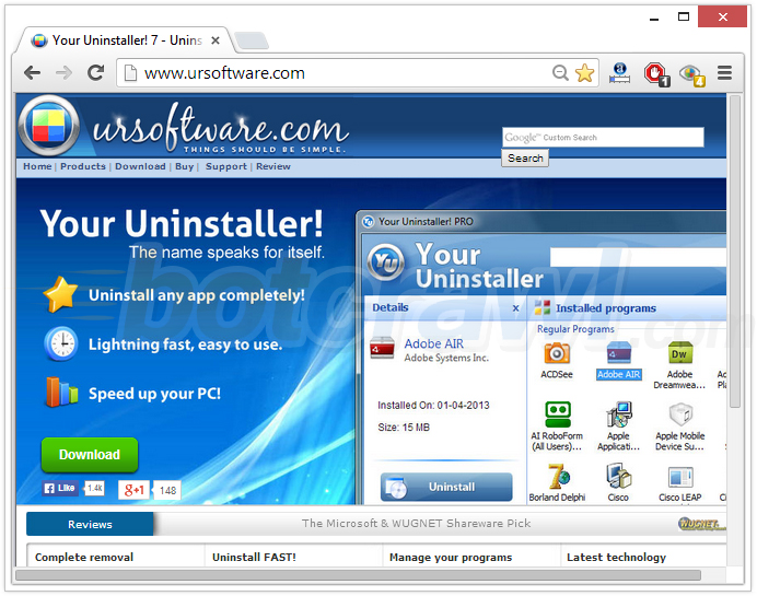 Your Uninstaller! ursoftware