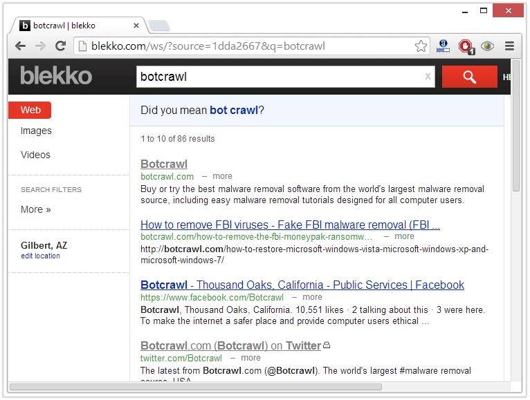 techbrowsing.com redirect virus removal