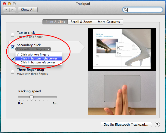 How to change Mac Right Click to one finger (Instructions)