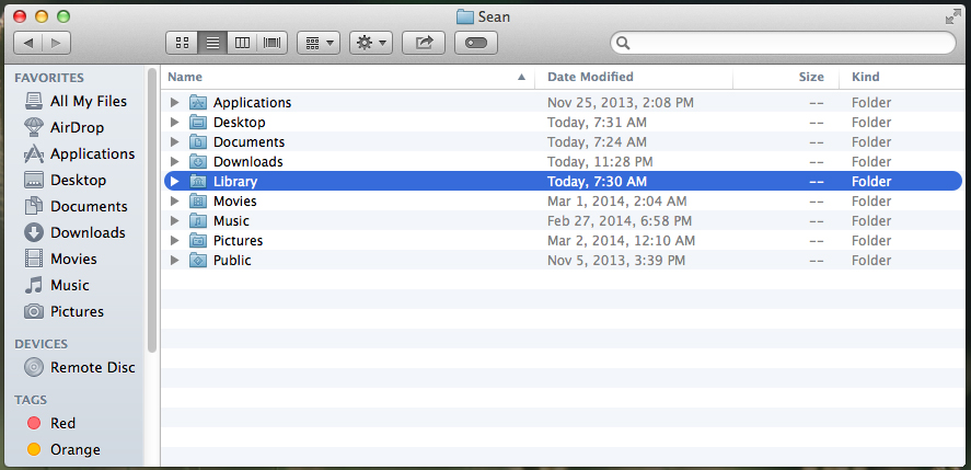 How to show the Library folder on Mac OS X (Instructions)