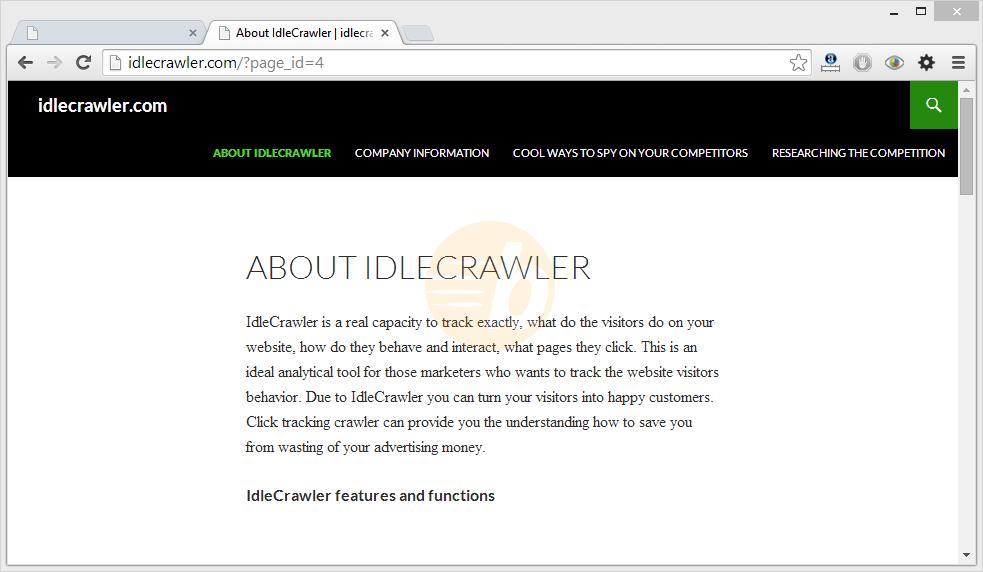 IdleCrawler virus