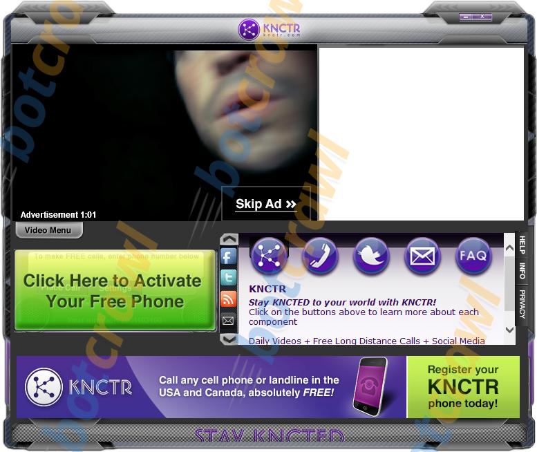 knctr free call