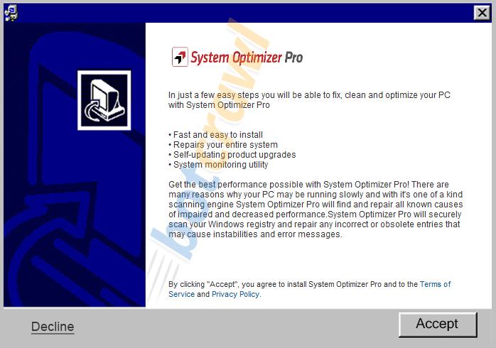 remove system optimzer pro malware