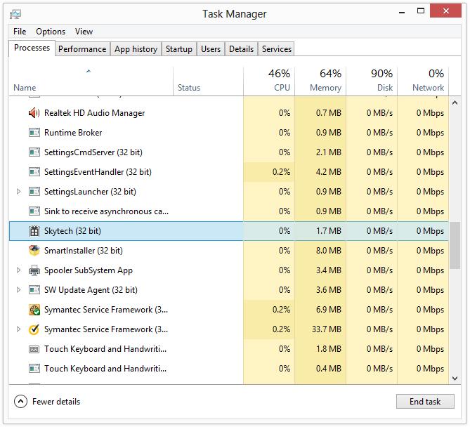 skytech malware removal
