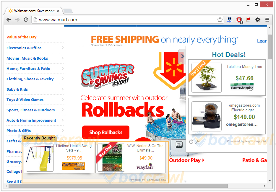 best coupon adware