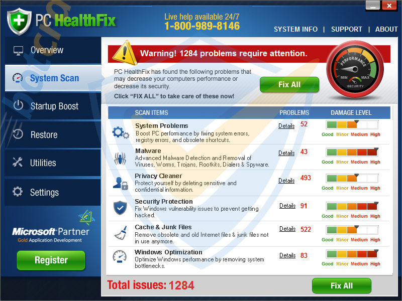 PC HealthKit virus