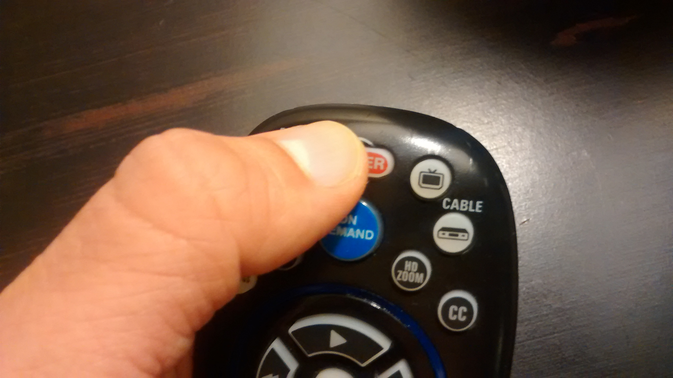 Test Cox remote to TV