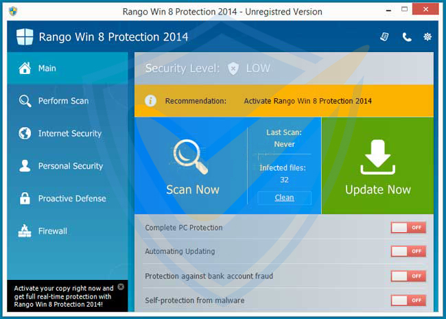 Rango Win 7 Protection 2014