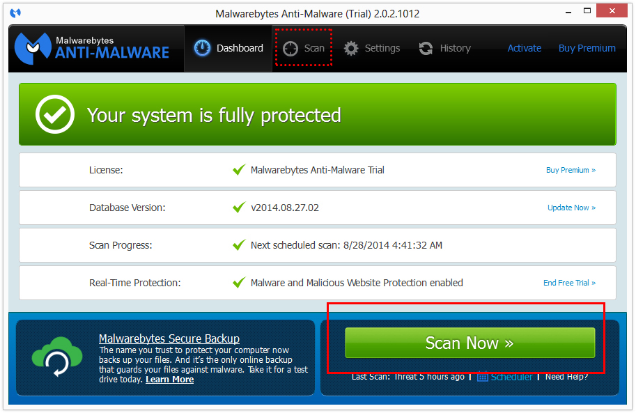Microsoft Security Essentials Alert removal