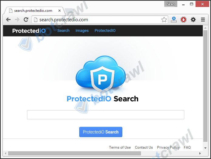 search.protectedio.com virus removal