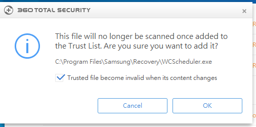 360 Total Security virus removal