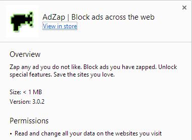 AdZap virus