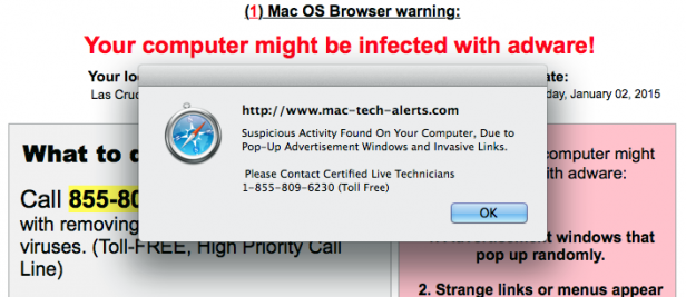 Apple Mac OS X Adware