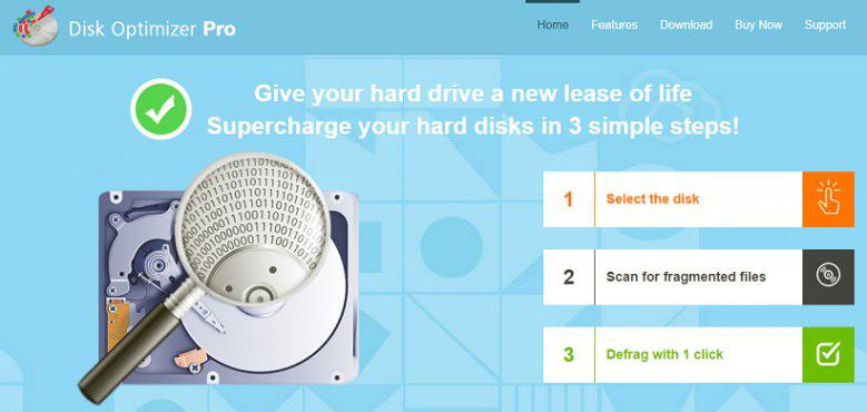 Disk Optimizer Pro