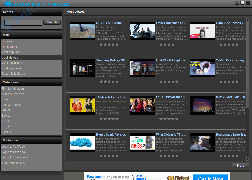 Media Player  by Video Buzz
