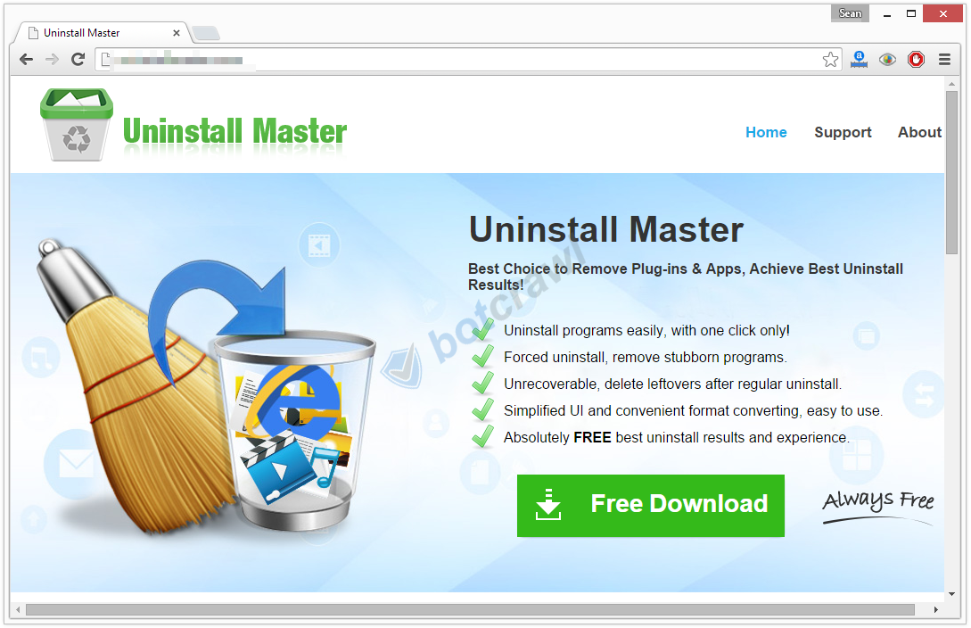 Uninstall Master virus