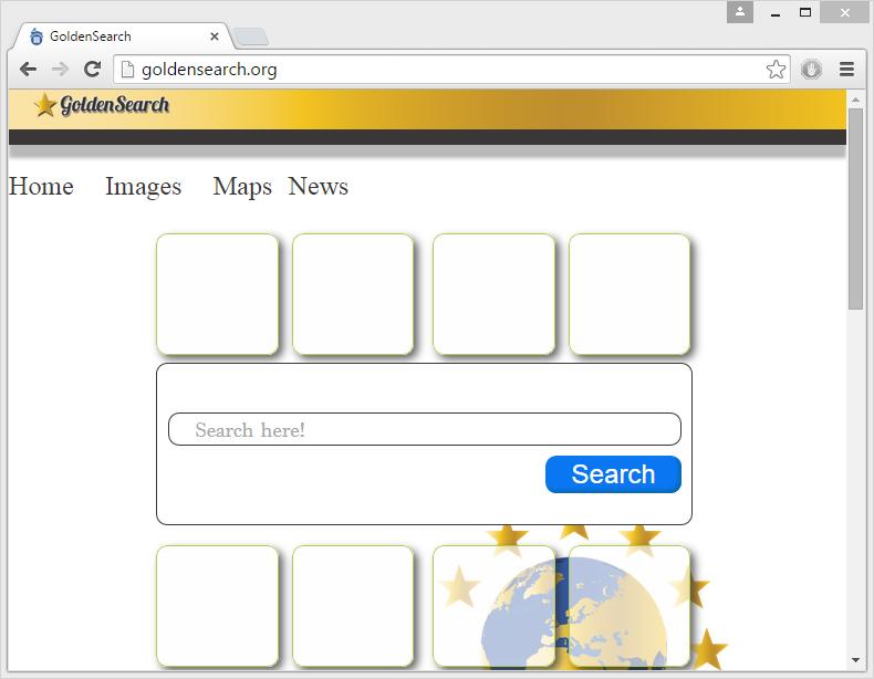 GoldenSearch.org virus