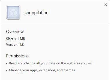 shoppilation virus