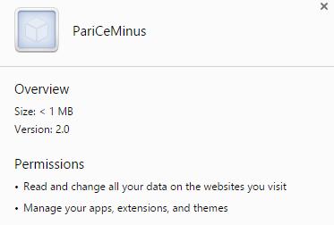 PariCeMinus virus