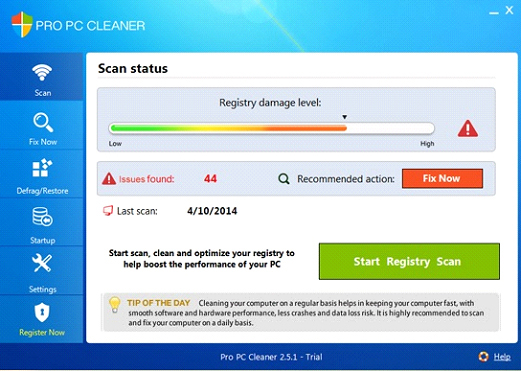 Pro PC Cleaner review