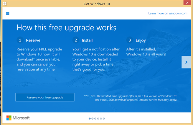 How to get free windows 10 upgrade botcrawl get windows 10 ccuart Image collections