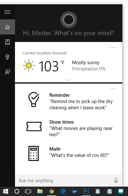 How to turn on Cortana (Windows 10)