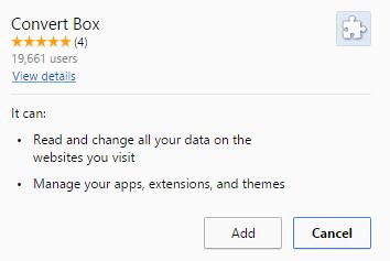Convert Box virus