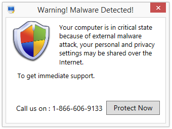 Warning! Malware Detected!