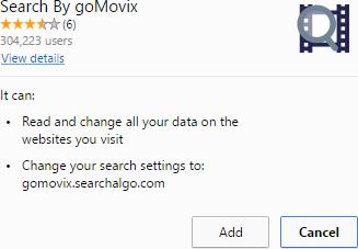 remove GoMovix