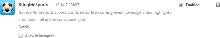 BringMeSports removal