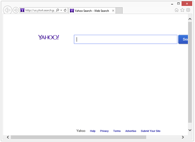 Search Provided by Yahoo