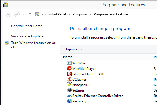 how to add or uninstall programs in nexus 10