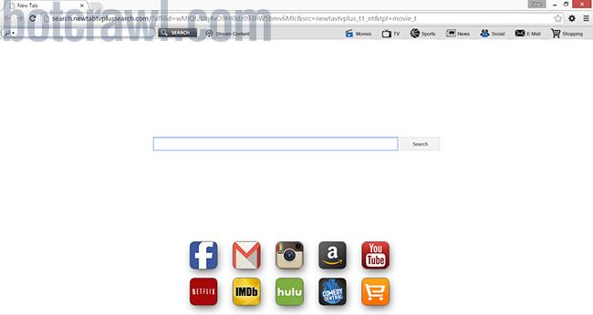 remove newtabtvplussearch.com virus
