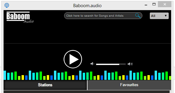 Baboom.Audio Beta extension