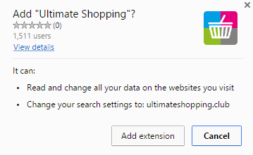 Ultimate Shopping virus