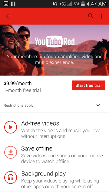What is YouTube Red? How to get a Free Trial, Sign Up, and Cancel