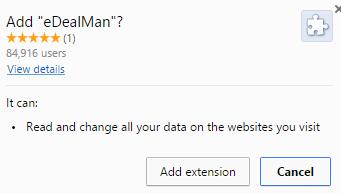 eDealMan virus