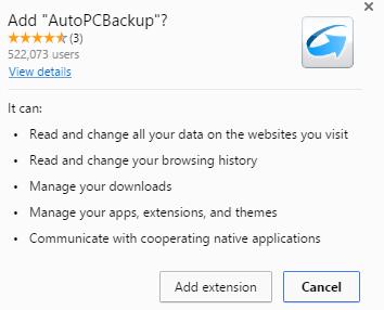 AutoPCBackup extension