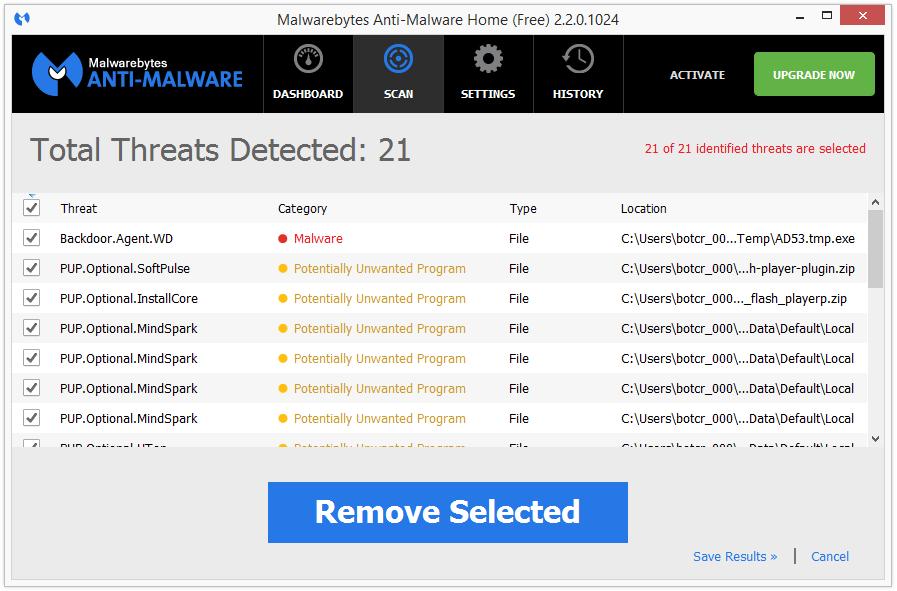 EverydayLookup malwarebytes
