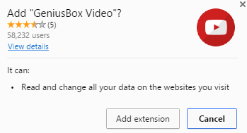 GeniusBox Video extension